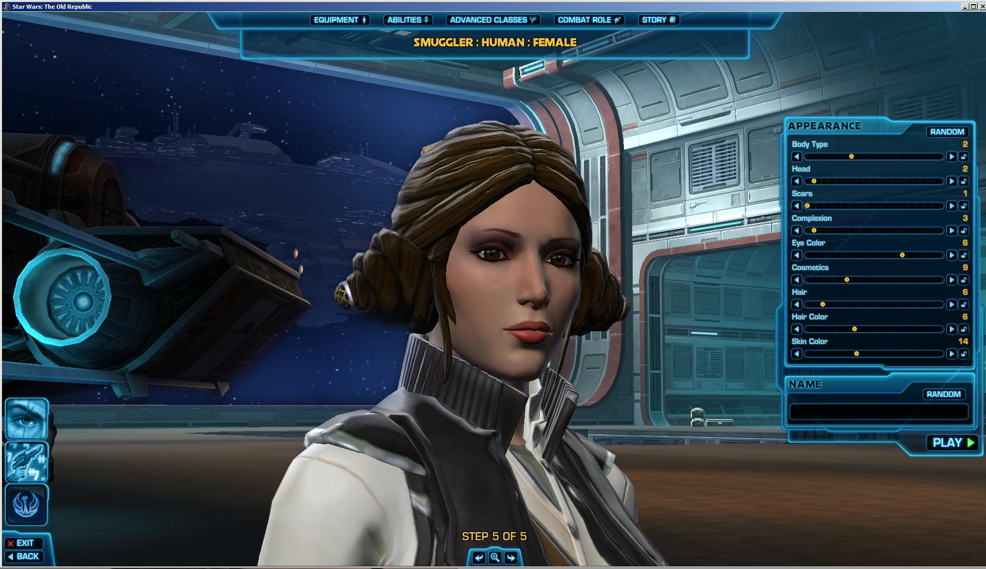 Leia And Han Solo In Swtor