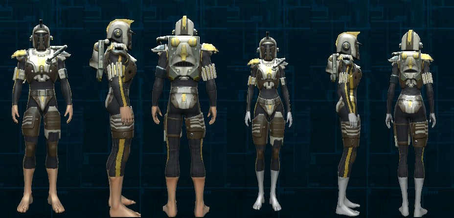 SWTOR Armormech Orange Schematics gallery for the empire