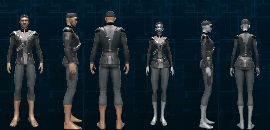 Star Wars The Old Republic Favourite Agent Armor Sets