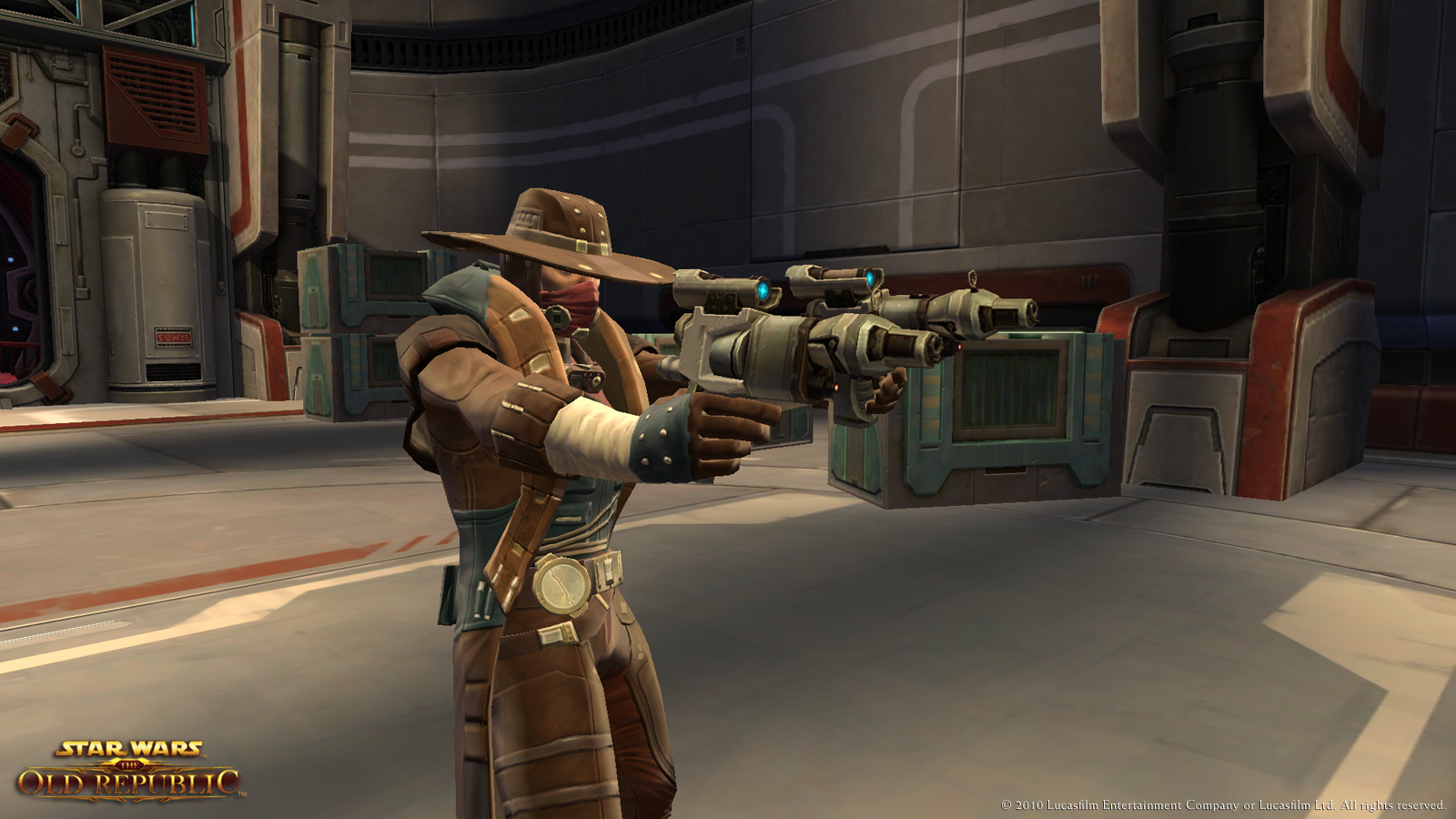 SWTOR Smuggler Gunslinger Leveling Build 1.2