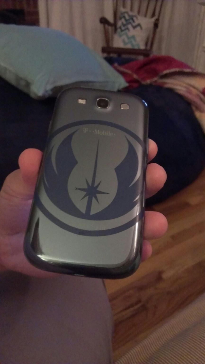 Wife Makes Husband Cool SWTOR Phone Cover