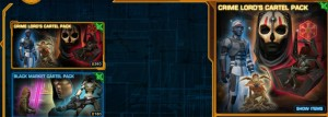 swtor Cartel Packs