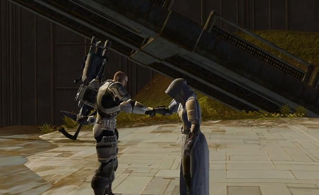 swtor greeting like a boss