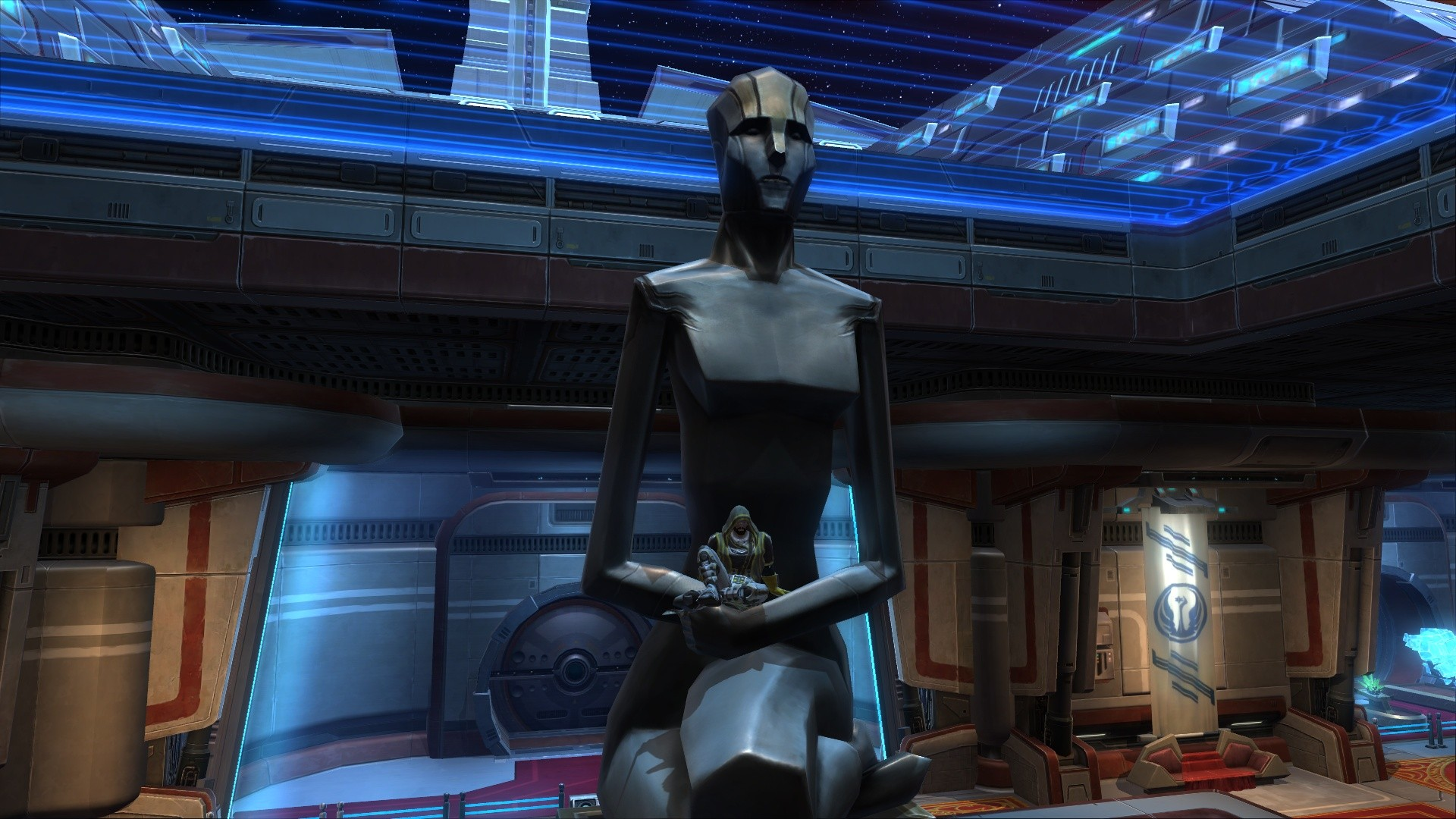 star wars the old republic statue