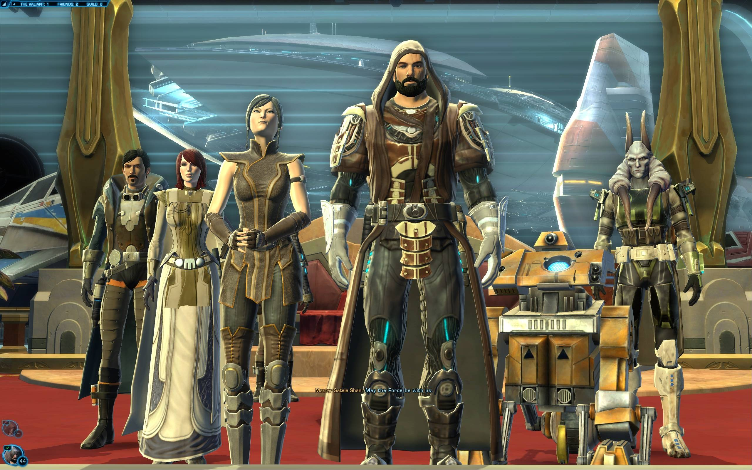 swtor Jedi Knight Guardian Leveling Build