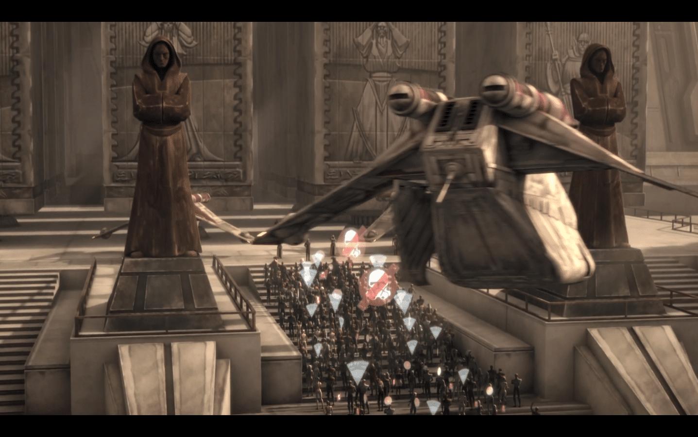 Jedi Temple Protest