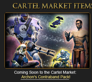 Archon's Contraband pack