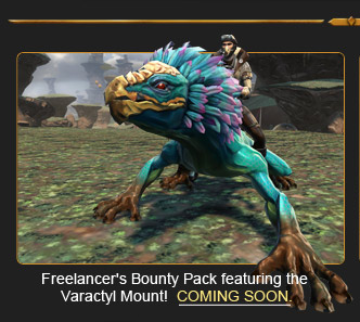 new swtor Varactyl mount