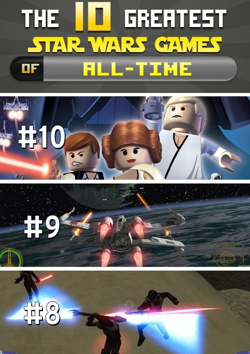 10 Greatest Star Wars Games of All-Time