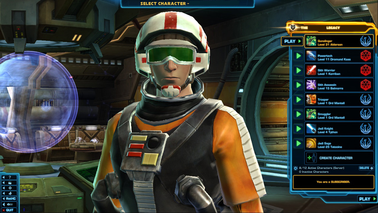swtor Class Representatives Update