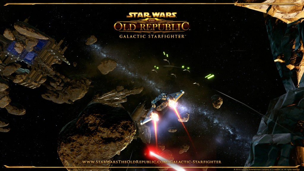 Star wars the old republic Galactic Starfighter Wallpaper