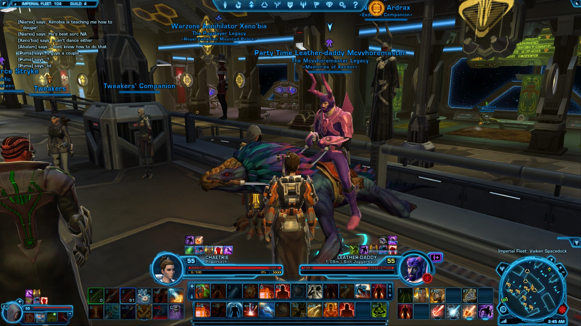 ugly swtor armor