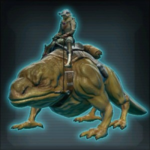 swtor Dewback mount