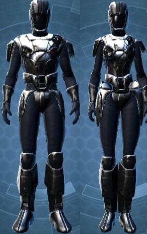 Battleworn Triumvirate Armor set