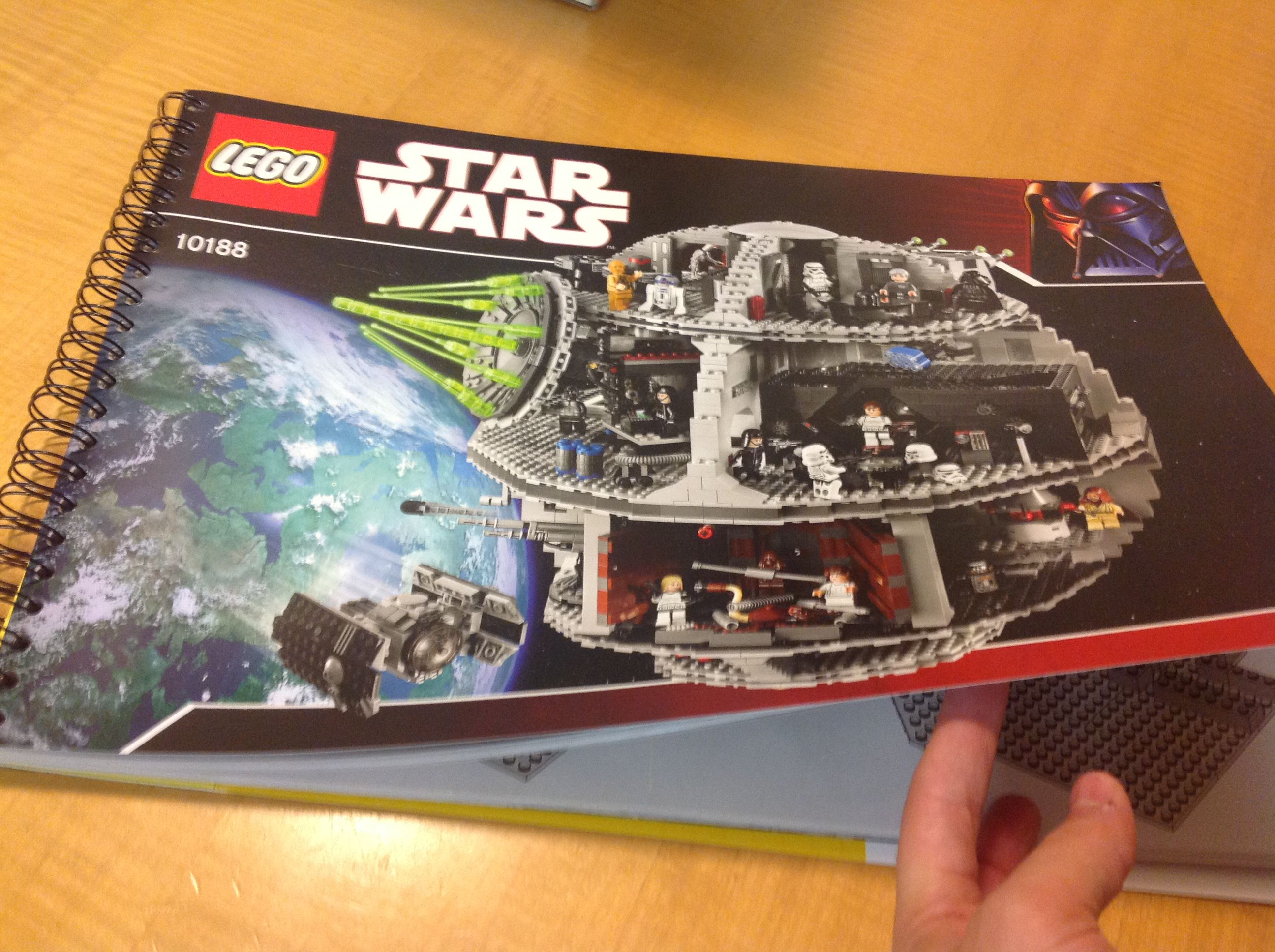 Building The Lego Death Star