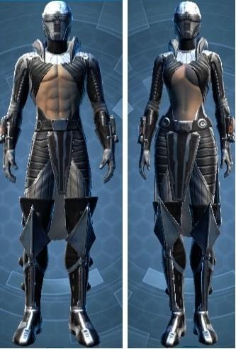 Dramatic Extrovert's Armor set