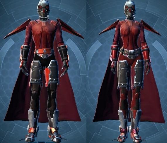 Frenzied Zealot Armor set
