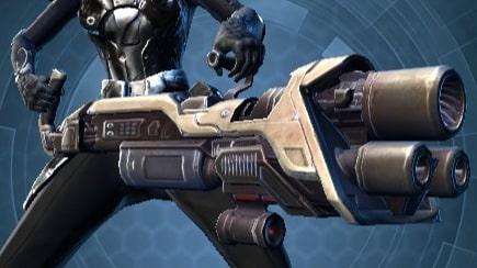Interstellar Regulator's Assault Cannon
