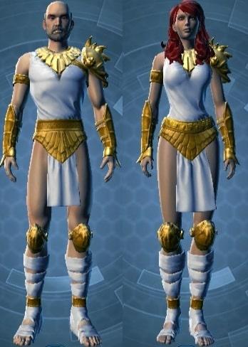 Jori Daragon's Armor set