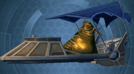 Model Blue Hutt Barge