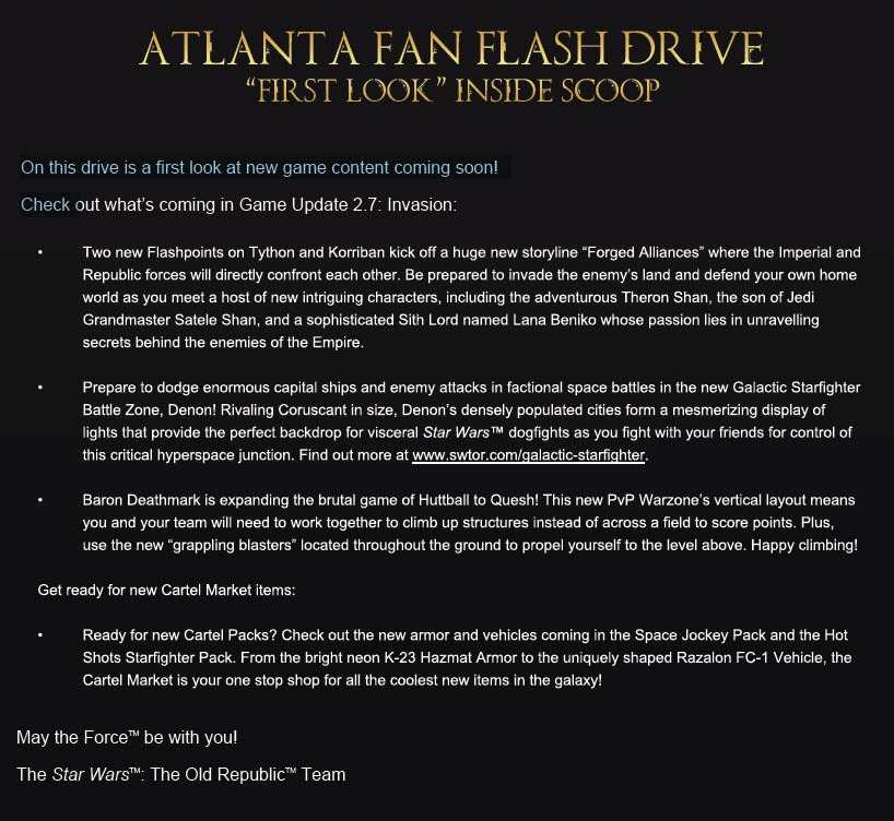Atlanta GA Community Cantina - Flash Drive Assets