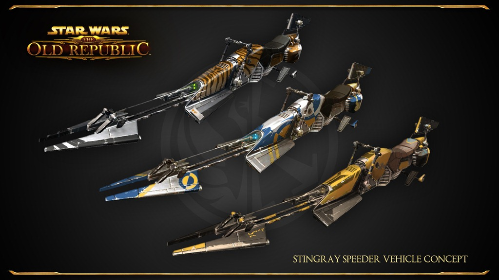 SWTOR_Stingray_Speeder_Vehicle_Concept