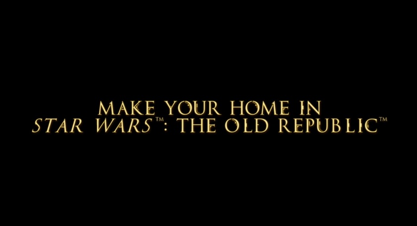 make your home in star wars the old republic