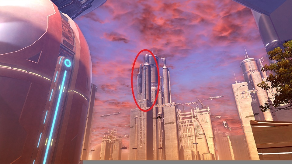 swtor Housing Location on Coruscant 1