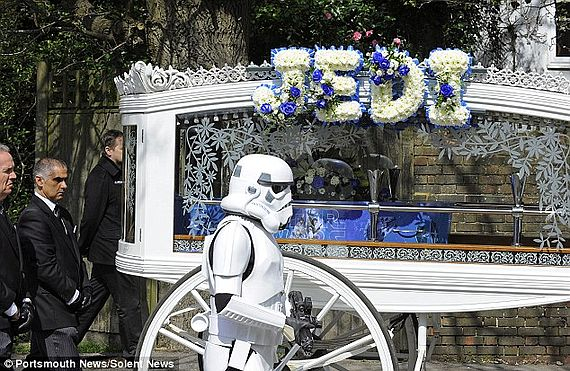 star wars funeral