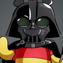 Winnie the Pooh as Darth Vader