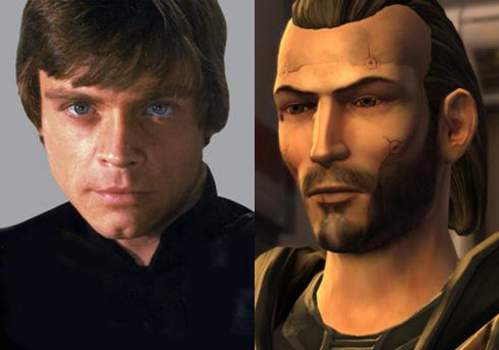Luke Skywalker VS Revan