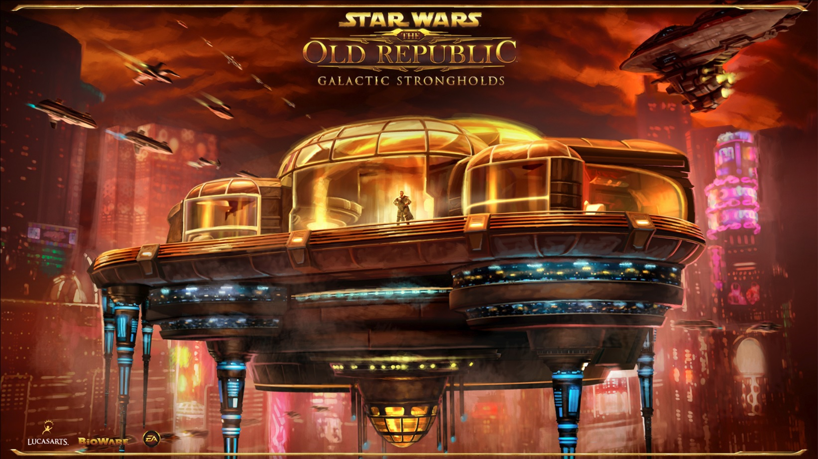 Galactic Strongholds loading screen