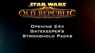 Opening 24x Gatekeeper's Stronghold Packs
