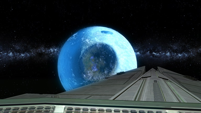 swtor Screenshot from Guild Flagship bridge