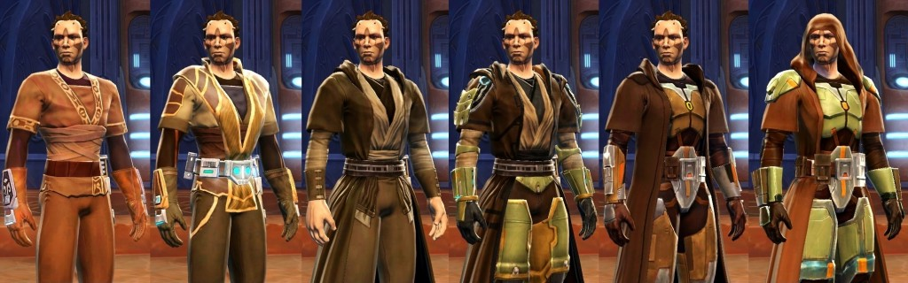 Gear Progression Jedi knight