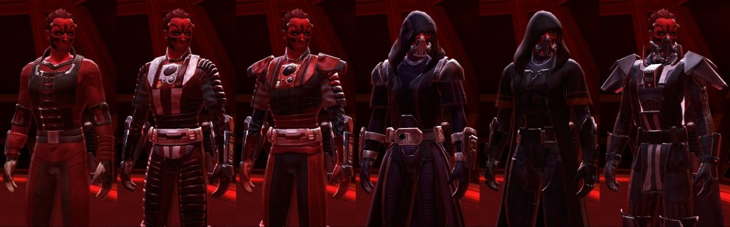 Gear Progression sith warrior