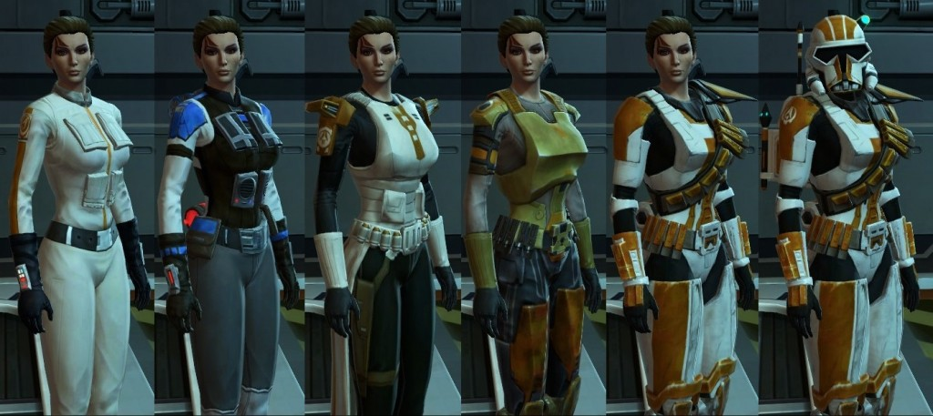 Gear Progression trooper