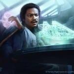 Lando looses Sabacc