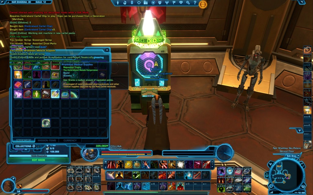 swtor The Contraband Slot Machine