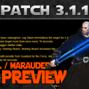 SWTOR: Patch 3.1.1 Jedi Sentinel and Sith Marauder Changes Analytical Video Preview