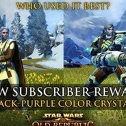 Exclusive new Black-Purple crystal for subscribers announced.