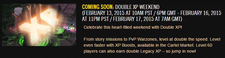 Double XP Weekend