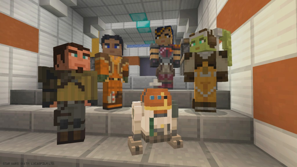 STAR WARS REBELS SKIN PACK COMES TO MINECRAFT FOR XBOX