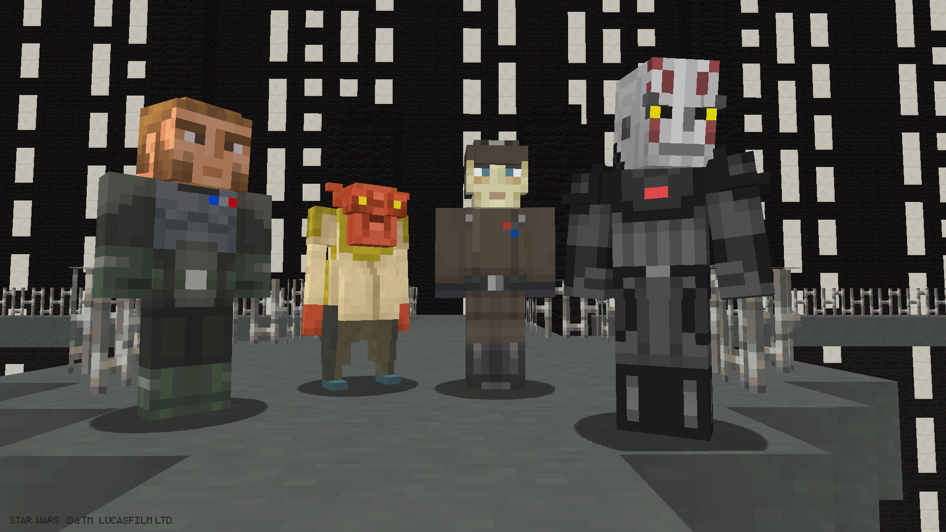 Star Wars Rebels Skin Pack Comes To Minecraft For Xbox - Skins fur minecraft 1 11 2