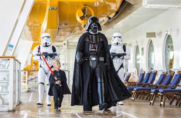 You can now go on a Star Wars themed cruise for some reason