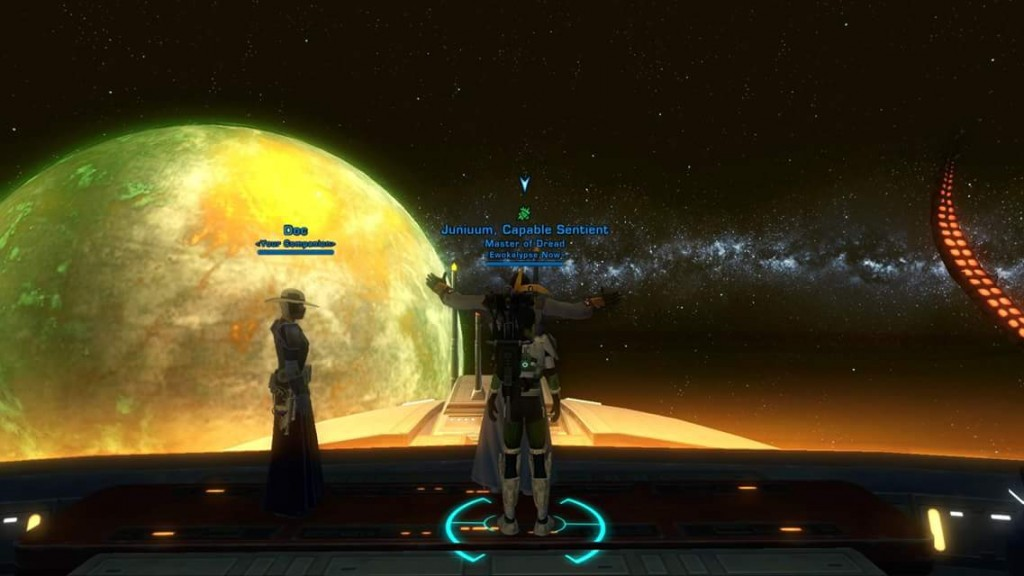 Titanic moment on our guild ship