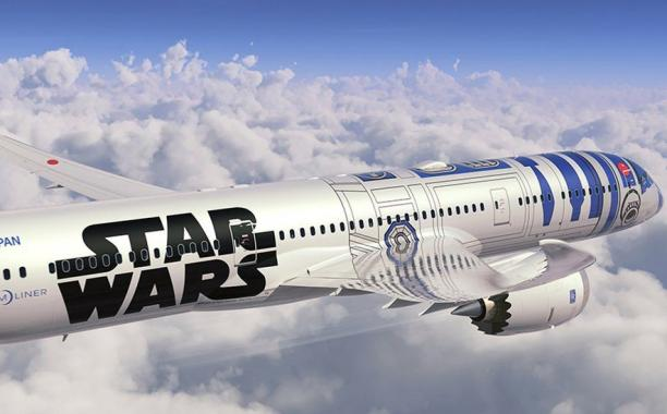 All Nippon Airways unveils Star Wars themed jetliner