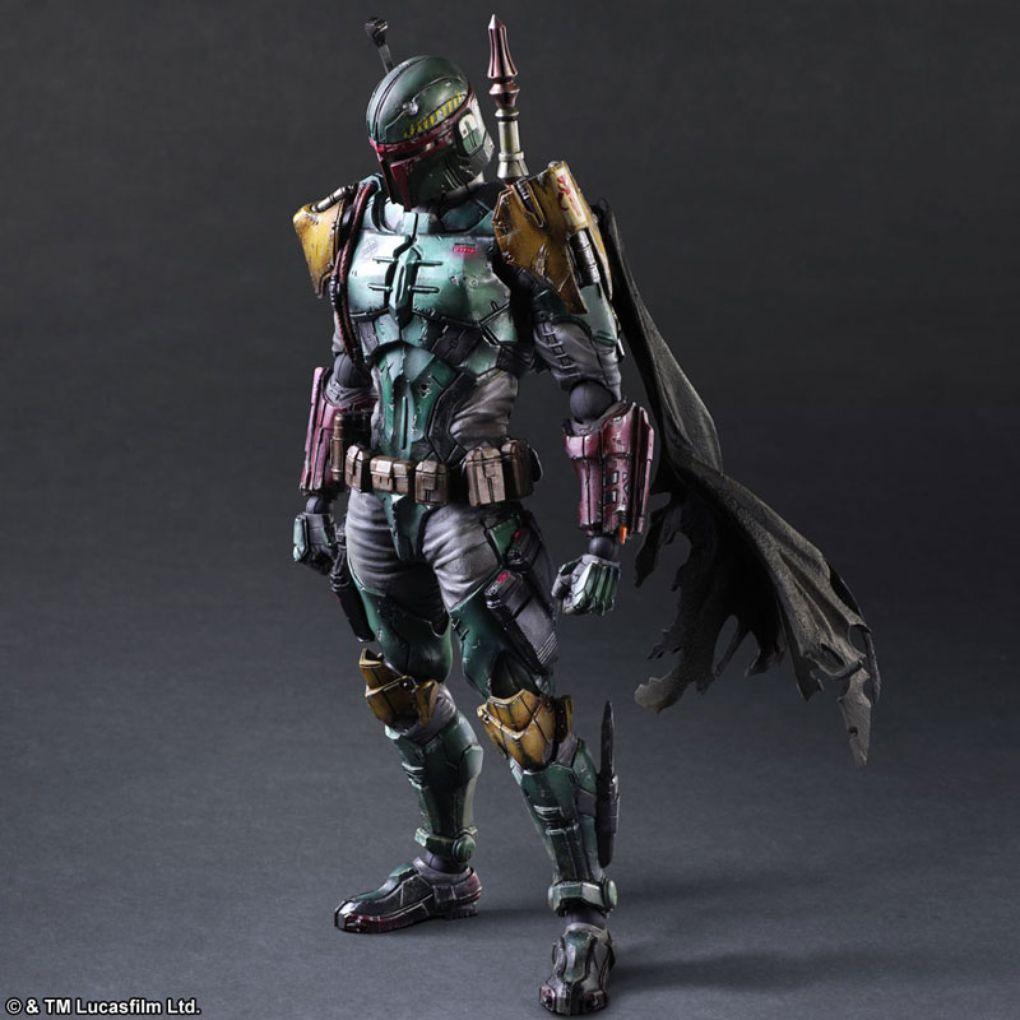 Star Wars Toys : Japanese star wars toys darth vader and boba fett look