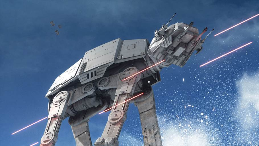 Star Wars Battlefront AT-AT's