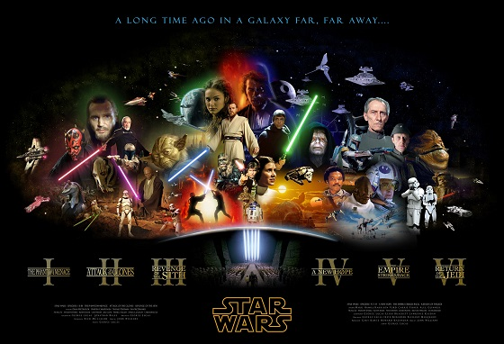 Star Wars Movies Release on iTunes and other Digitial Platforms this Week